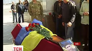 На Майдані Незалежності в Києві попрощалися з бійцем батальйону «Айдар» - (видео)