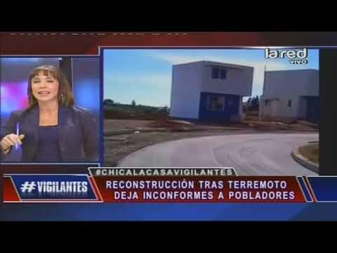 Poblador insulta a Piñera por casas diminutas. Comenta panel de Vigilantes
