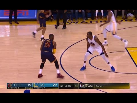Kevin Durant vs LeBron James Highlights - Game 1 - 2017 NBA Finals
