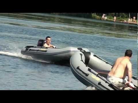 лодка гладиатор 330 с мотором тохатсу