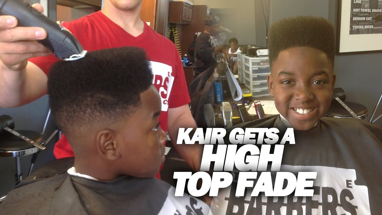 How To Classic High Top Fade Kid N Play Haircut