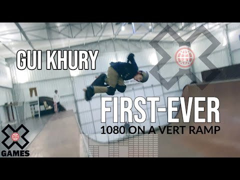 Gui Khury: World's First Skateboarding 1080 on Vert! | World of X Games
