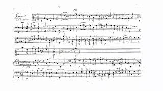 """Marin Marais - Gigue """"La Badine"""" in e-minor from the second book (103)"""