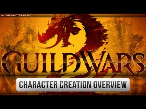  Guild Wars - GW2 Beta - Character Creation Overview