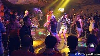 Disko Lucifer on Walking Street Pattaya 2013 Cool and nice Disco