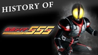 History Of Kamen Rider Faiz