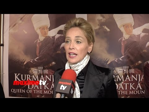 Sharon Stone Interview | Queen Of The Mountains Premiere | Red Carpet