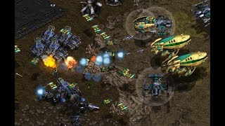 EPIC - Lefthand (T) v Mio (P) on Destination - StarCraft  - Brood War REMASTERED 2019
