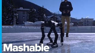 This 3D Printed Robot Taught Itself To Ice Skate