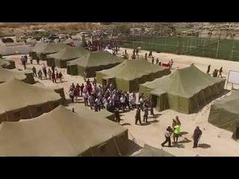 Российский лагерь для беженцев появился в Сирии