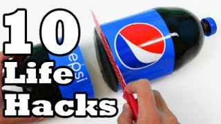 10 simple ideas using Plastic Bottle