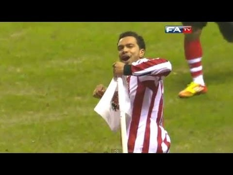 Sunderland 2-0 Arsenal - Official Highlights and Goals | FA Cup 5th Round 18-02-12