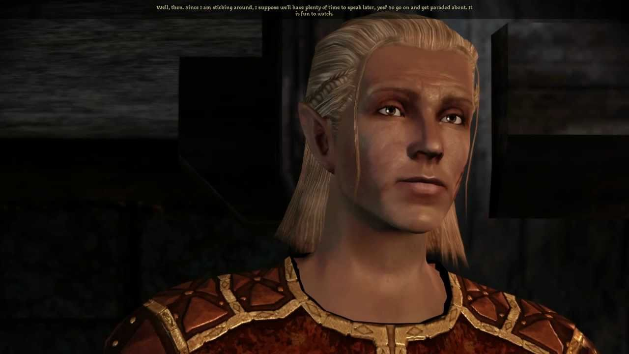 Zevran dragon age 2