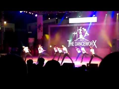Performance by The Danceworx @ Rendezvous '14, IIT Delhi