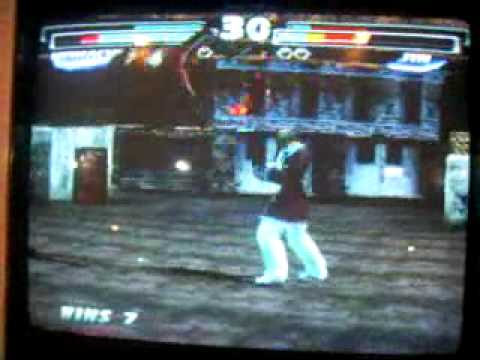 Waveking vs black&blue apple (Tekken tag)