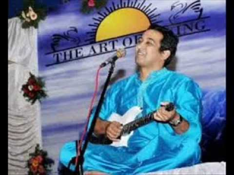 Art of Living Bhajans By Vikram Hazra  Achyutam Keshavam From...