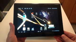 Sony Tablet S Android Ice Cream Sandwich Review & Tour