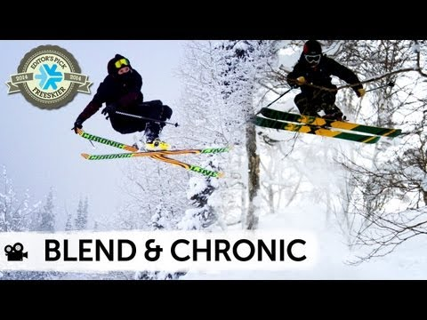 2014 Blend & Chronic Skis - SKIS TO HAVE FUN ALL OVER THE MOUNTAIN