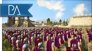 Epic Siege of Tricks and Traps! - Total War: Rome 2