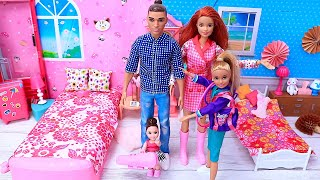 Download lagu Barbie Doll Morning Family Routine for School - Best Videos Compilations - PLAY DOLLS