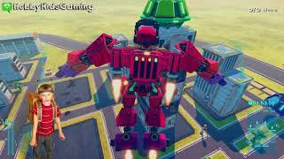 LABO ROBOT BUILD with Nintendo Switch! HobbyFrog Video Gaming Fun