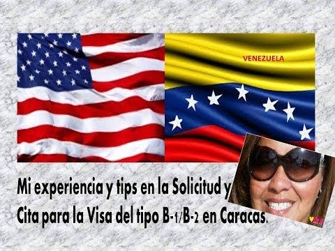 Entrevista para la Visa Americana en Caracas ✮