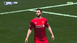 FIFA 2015 Liverpool Vs MUFC Joe Allen Sccore My XBOX-One