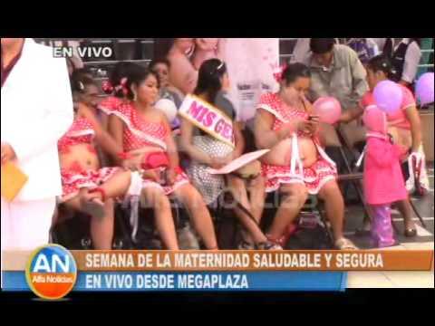 En vivo desde Mega Plaza: Semana de la Maternidad saludable y segura