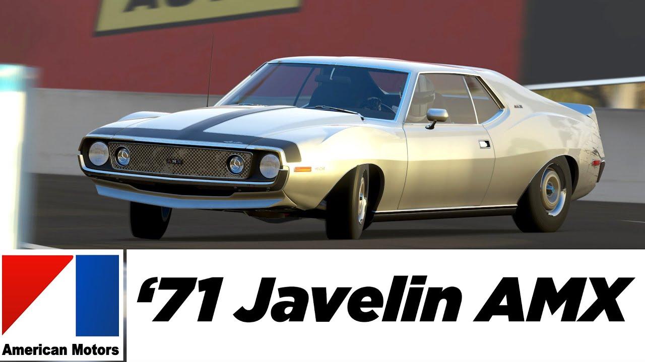 Amc Javelin Amx 1971 American Motors Company Forza 5