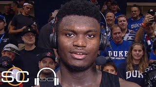 Zion Williamson on windmill dunk: I wanted to keep our energy high | SC with SVP