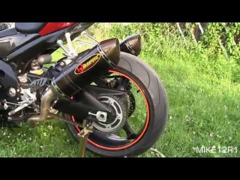 Suzuki GSXR 1000 Akrapovic Full Exhaust Sound Test - Gixxer 1000 Engine Start. Revving & Walkaround
