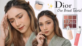 1 MUKA 9 JUTA DIOR ONE BRAND MAKEUP TUTORIAL + FULL REVIEW