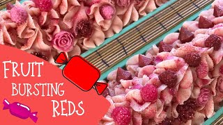 Making Of All Reds Cold Process Soap Starburst Inspired | 🍒🍓 🍉GYPSYFAE CREATIONS