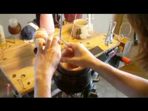 Sock Knitting Machine - Fun video