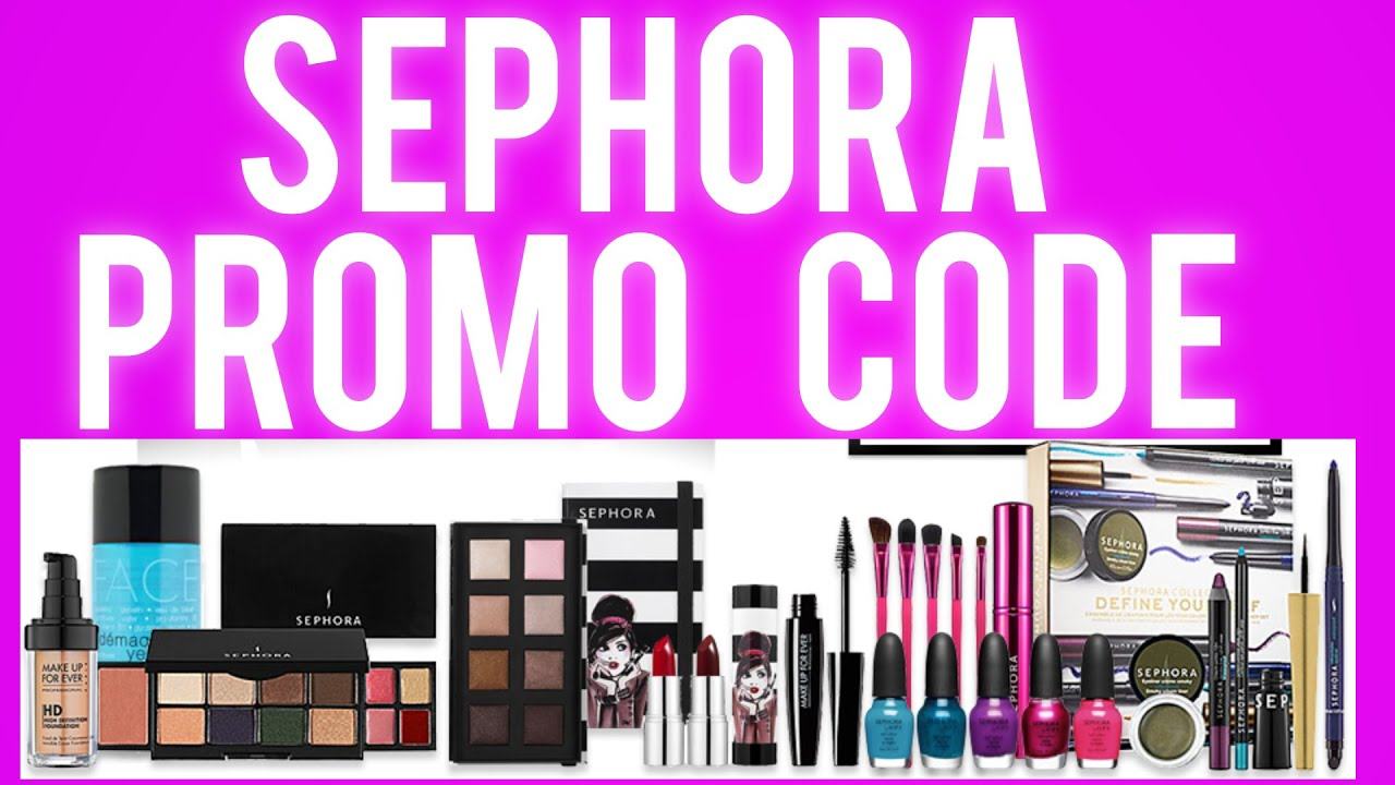 sephora promo code new coupon codes gift cards added every month youtube. Black Bedroom Furniture Sets. Home Design Ideas