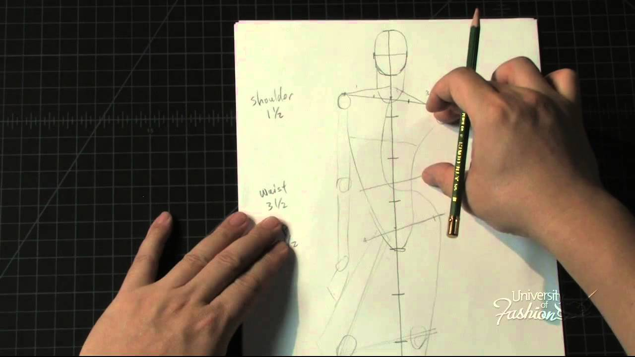 Fashion Art How to draw a male contrapposto pose  YouTube -> Pose Tv Dising