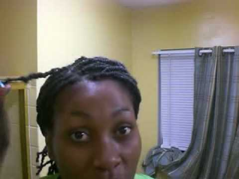 EONHAIR.COM! LONGER Nubian Silk Twist showing twisting technique