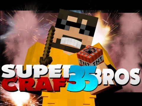 Minecraft SuperCraft Bros 35 - TNT!!