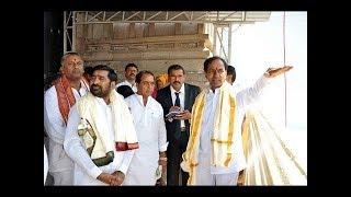 LIVE: CM KCR Visits Yadadri Laxmi Narasimha Swamy Temple LIVE | TV5 LIVE