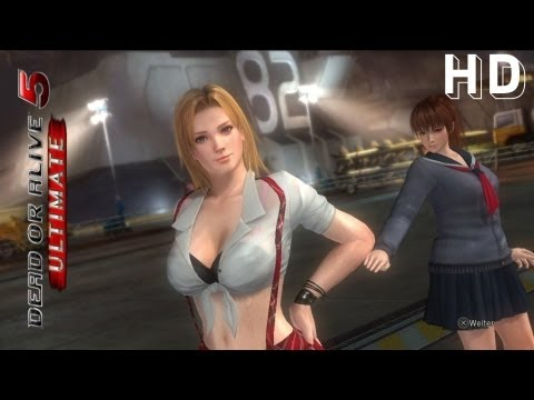 Dead or Alive 5 Ultimate: Kasumi & Tina vs. Helena & Christie