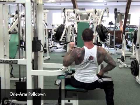 One-Arm Lat Pulldown by Jim Stoppani