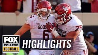 Oklahoma vs. Oklahoma State | Highlights | FOX COLLEGE FOOTBALL