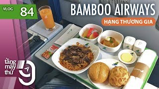 BUSINESS CLASS on Bamboo Airways from Hanoi to Ho Chi Minh City