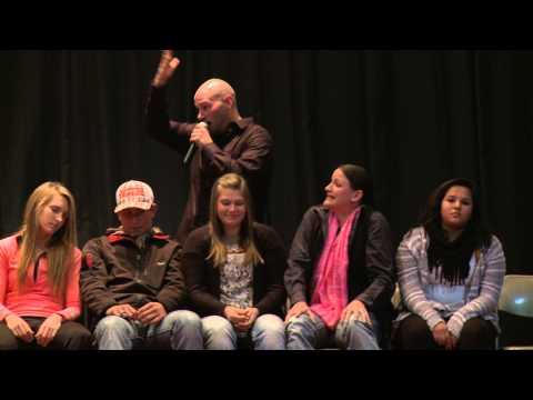 z*stonish Comedy Hypnotist Show Montage - Willow Lake, SD