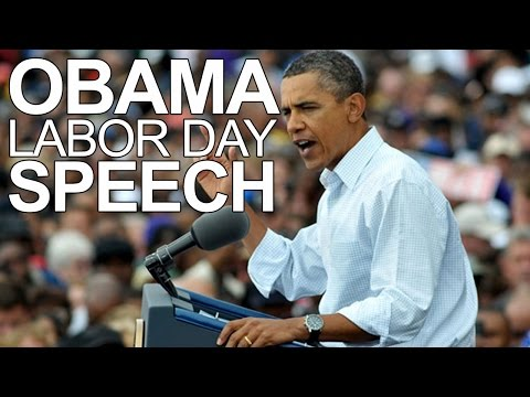 President Barack Obama Labour Day 2014: Speech rallies Wisconsin union workers w/ minimum wage hike