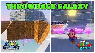 THROWBACK GALAXY in Super Mario Odyssey! [ + Download! ]
