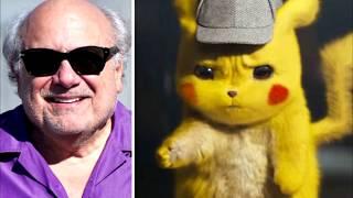 Danny DeVito As Detective Pikachu