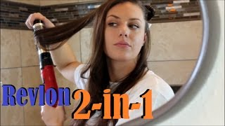 Revlon 2-in-1 Blow Dryer and Hair Styler | A Closer Look
