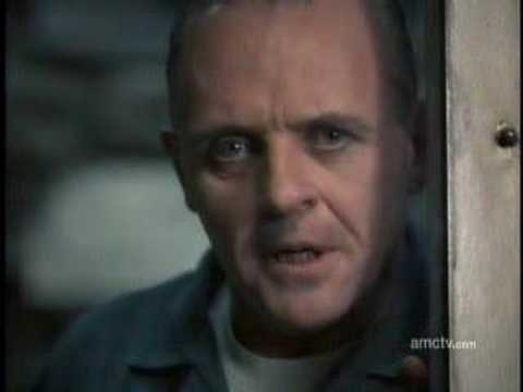 I ate His liver with some fava beans...