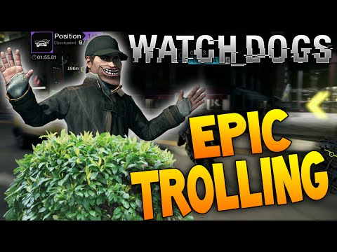 EPIC TROLLING FROM BUSH! Lol! Live Watch Dogs Online Hacking Gameplay!